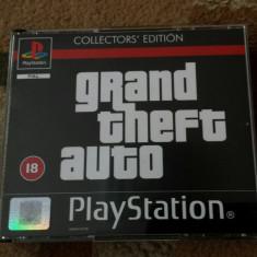 vand jocuri ps1 colectie , GTA  COLLECTORS EDITION, in stare impecabila