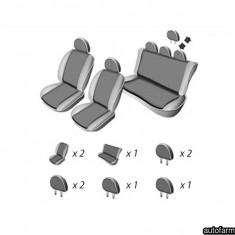SET HUSE SCAUN DACIA LOGAN SEDAN 2007-2013 UMBRELLA 45952 - Husa scaun auto