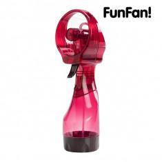 Ventilator portabil cu spray de apa-Rosu