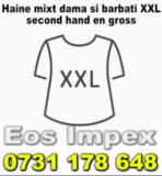 Depozit Haine Second Hand - Haine mixt dama si barbati XXL second hand en gross, Multicolor