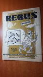 revista rebus nr.485 din 1 septembrie 1977