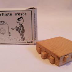 Joc de lemn inteligenta, perspicacitate, logica - Der verflixte Tresor