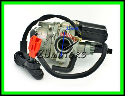 Carburator scuter PEUGEOT Elyseo 50 49cc - 80 cc 2T foto