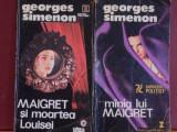 GEORGES SIMENON- MAIGRET SI MOARTEA LOUISEI SI MINIA LUI MAIGRET- ED. VREMEA,