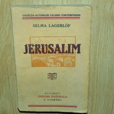 JERUSALIM -SELMA LAGERLOF