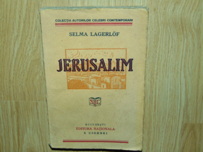 JERUSALIM -SELMA LAGERLOF foto