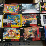 pachet  57   jocuri SNES , NES ,SEGA DREAMCAST, game gear , vintage, GAMEBOY