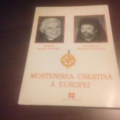 JOSEPH RATZINGER, DAMASKINOS AL ELVETIEI- MOSTENIREA CRESTINA A EUROPEI - Carti Crestinism