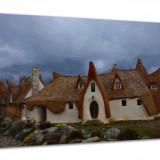 Tablou Canvas Castelul de Lut 80x50 cm decoratiuni interioare