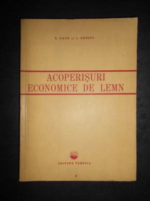 N. GANE * I. OTESCU - ACOPERISURI ECONOMICE DE LEMN foto