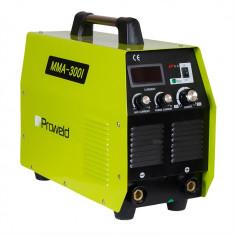 Aparat de sudura Proweld MMA-300I, Invertor, Curent sudare 300A, Trifazat 400V