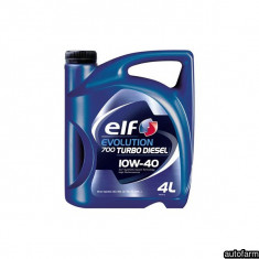 ELF EVOLUTION 700 TURBO DIESEL 10W-40- 4L ELF 25976 - Ulei motor