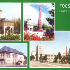 Carte postala CP VN009 Focsani  - Piata Unirii - necirculata, Printata
