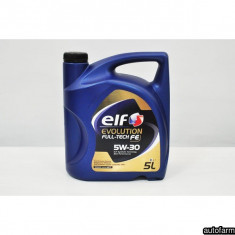 ELF EVOLUTION FULL-TECH FE 5W-30- 5L ELF 25286 - Ulei motor