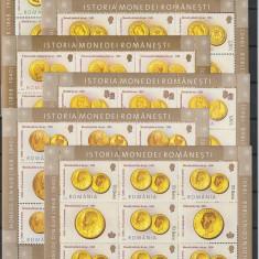 Romania, Monede de aur efigii regi, nr lista 1710a. - Timbre Romania, Nestampilat