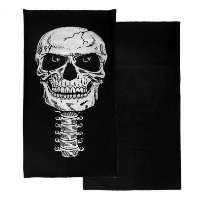 Cagula masca bandana motor Halloween SKI foto