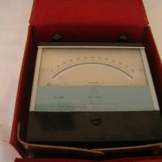 Aparat de masura METRA BLANSKO ML 10 milivoltmetru vintage