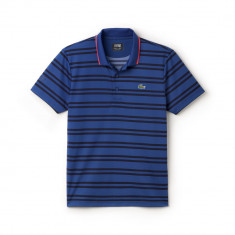 Tricou Lacoste Polo colectie noua S - Tricou barbati, Marime: XS/S, Culoare: Albastru, Maneca scurta, Poliester