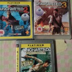Jocuri PS3 Ubisoft, playstation 3, aventura, actiune, sport, seria UNCHARTED 1, 2 si 3, 16+, Single player