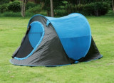 Cort camping 2 persoane Pop-up poliester, camping, festival