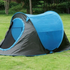 Cort camping 2 persoane Pop-up poliester, camping, festival, Numar persoane: 2