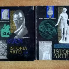 Marin Nicolau-Golfin - Istoria artei {2 volume} - Carte Istoria artei