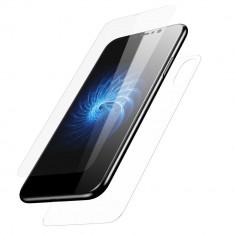 Folie iPhone X Fata Spate Transparenta - Folie de protectie Apple, Lucioasa