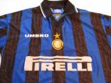 """Tricou """"Umbro""""fotbal - INTERNAZIONALE MILANO (nr.22 MILITO), S, Din imagine, De club"""