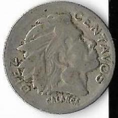Moneda 10 centavos 1954 - Columbia, America Centrala si de Sud
