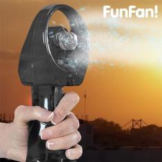 Ventilator portabil cu spray de apa-Negru