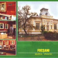 Carte postala CP VN007 Focsani  - Muzeul Vrancei - necirculata, Printata