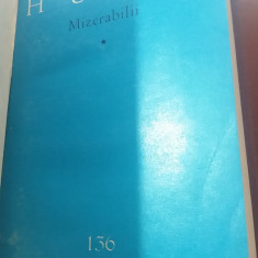 RWX 77 - MIZERABILII - VICTOR HUGO - 5 VOLUME - EDITIE 1962 - Carte de lux