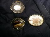 Brose vintage superbe pentru esarfa,set bijuterii vintage,Transport GRATUIT