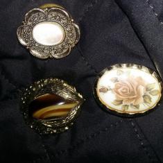 Brose vintage superbe pentru esarfa, set bijuterii vintage, Transport GRATUIT