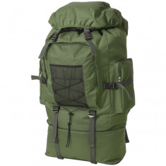 Rucsac în stil militar, XXL, 100 L, verde - Geanta voiaj
