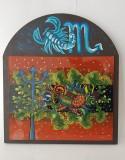Pictura pe sticla - Scorpion, Scene gen, Fresca, Altul