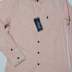 Camasa Polo Ralph Lauren - Slim Fit !, L, M, XL, XXL, Maneca lunga, Alb, Somon, Verde