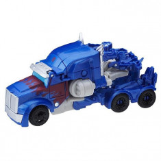 Jucarie Transformers Last Knight 1 Step Turbo Changers Optimus Prime - Vehicul