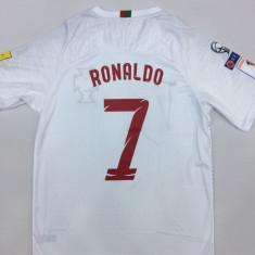 TRICOU CAMPIONAT MONDIAL PORTUGALIA RONALDO MARIMI S, M, XL, XXL - Tricou echipa fotbal, Marime: M, S, Culoare: Alb
