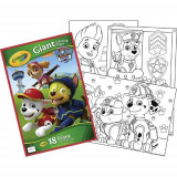 Carte De Colorat Gigant Paw Patrol - Carte educativa