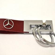 Breloc MERCEDES piele model deosebit, Mercedes-Benz