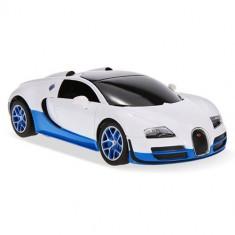 Masinuta Bugatti Veyron Grand Sport Vitesse Scara 1:24 Alb - Masinuta electrica copii Rastar