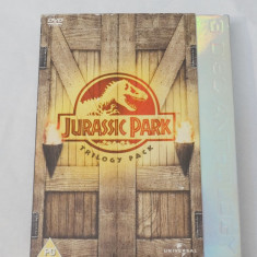 Film DVD Jurassic Park Trilogy Pack - 3 discuri DVD - Film actiune universal pictures, Engleza