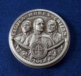 Medalie argint  Closca , Horea si Crisan - Marea rascoala taraneasca de la 1784