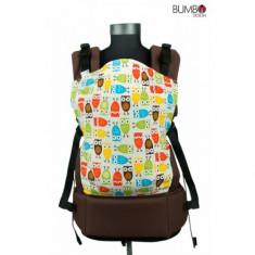 Boba bufnite - sistem de purtare bebelusi - Marsupiu bebelusi, Multicolor
