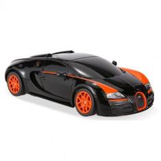 Masinuta Bugatti Veyron Grand Sport Vitesse Scara 1:24 Negru - Masinuta electrica copii Rastar