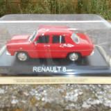 Macheta Renault 8 - Masini de Legenda scara 1:43 - Macheta auto