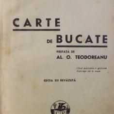 CARTE DE BUCATE, SANDA MARIN, EDITIA A XII A, 1945 - Carte Retete traditionale romanesti