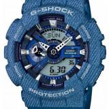 Ceas Casio G-SHOCK GA110 DC ,Denim-blue light (ORIGINAL) ,NOU