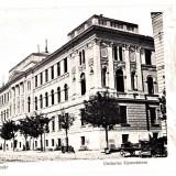 Cluj  Kolozsvar Gimnaziul unitarian Brassai si biserica unitariana  CP clasica, Circulata, Printata, Cluj Napoca